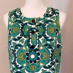 Ann Taylor Sz 12 Multi Color Dress